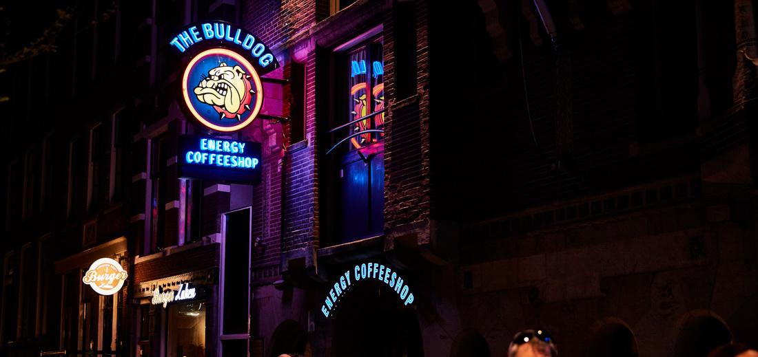 Best coffee shops in Amsterdam The Bulldog Energy coffee shop