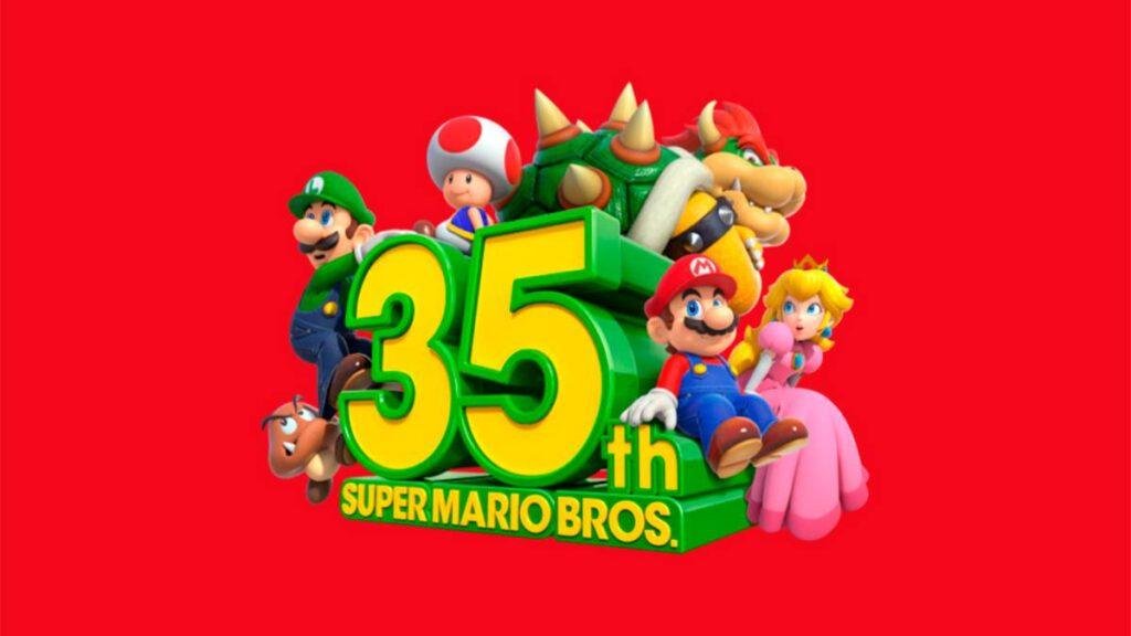 Super Mario Bros. 35-jähriges Jubiläum