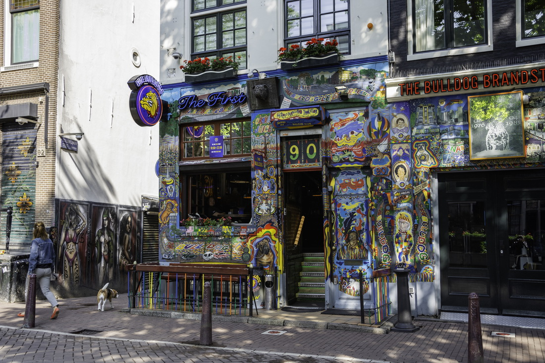 Best coffee shops in Amsterdam The Bulldog
