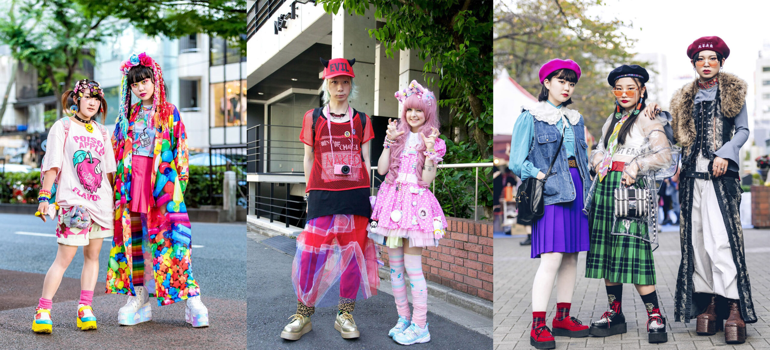 Harajuku Fashion: All you must know about this style. Girls and boys wearing Harajuku style.