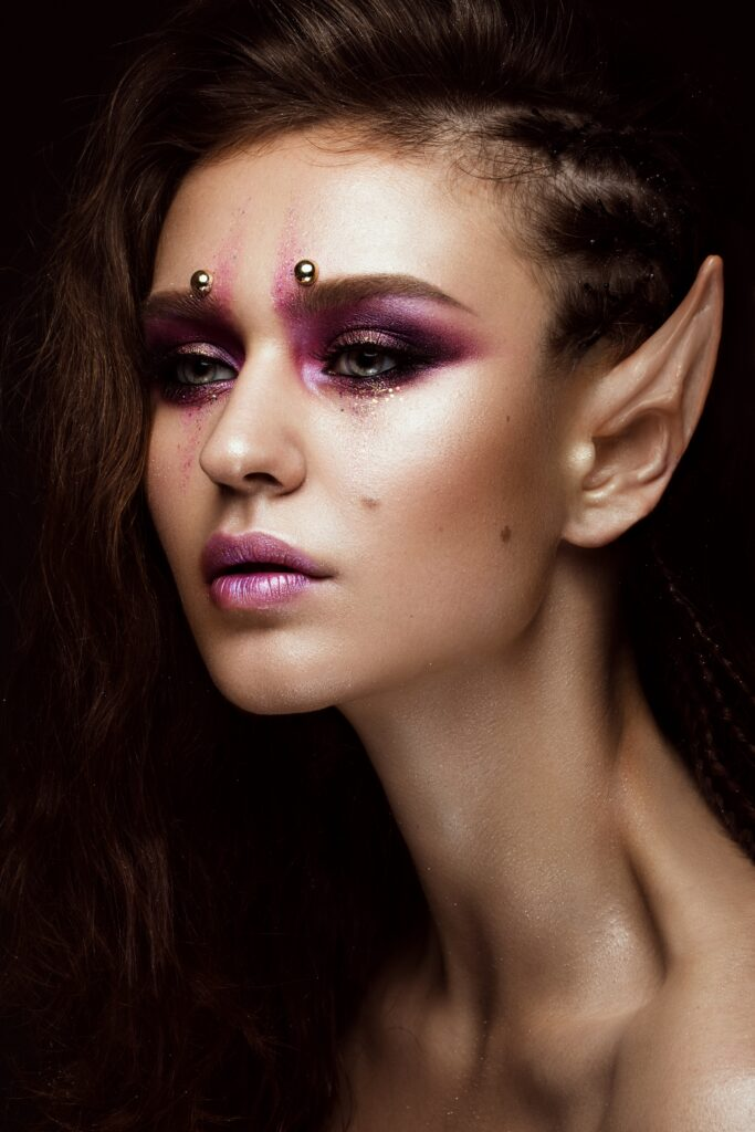 Other really strange body modifications: Elf Ears as a form of ear shaping.