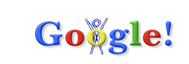 Google Doodle of August 30, 1998.