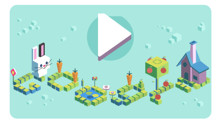 Google Doodle Coding for Carrots.