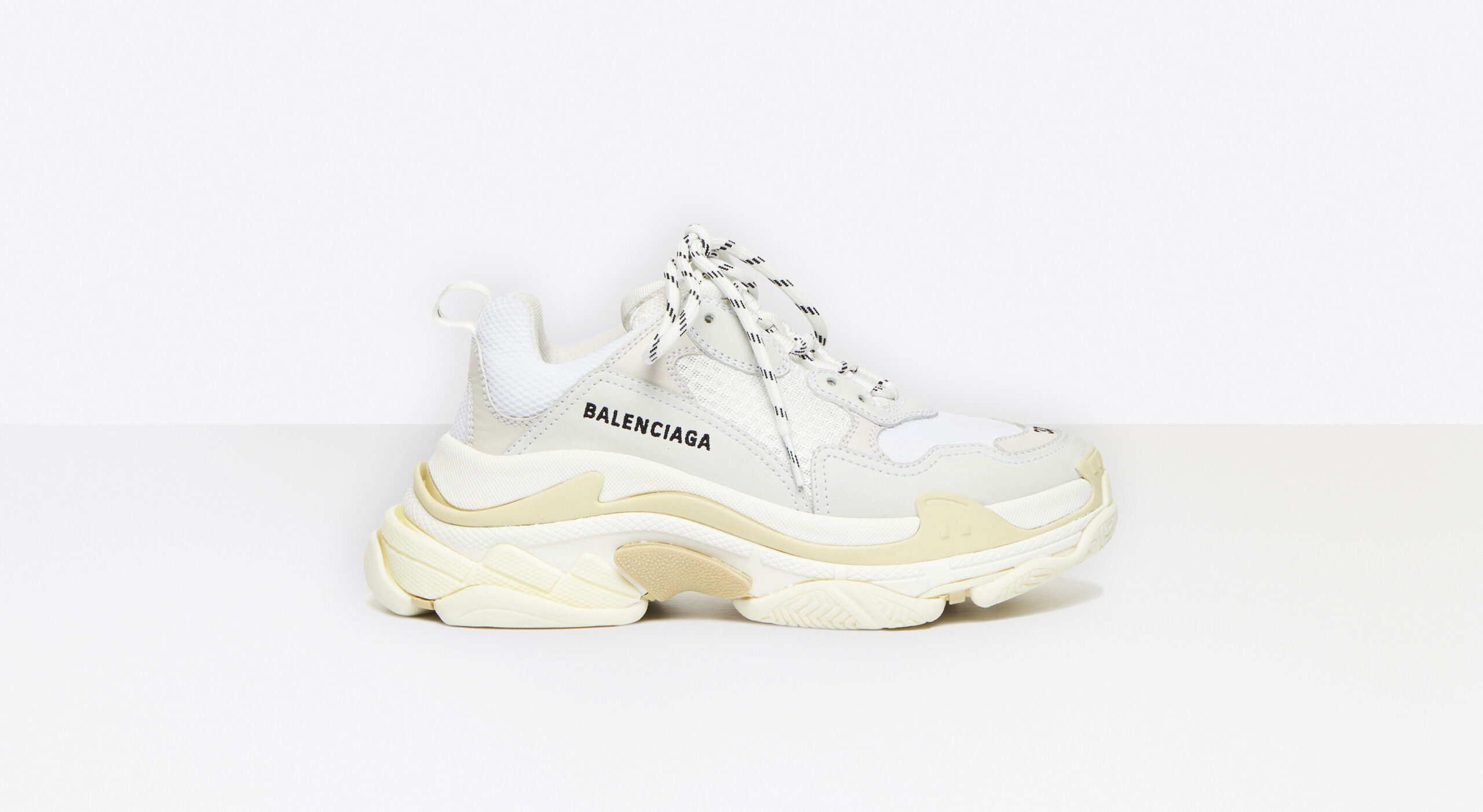 The famous Balenciaga trainers, a truly athleisure fashion brand.