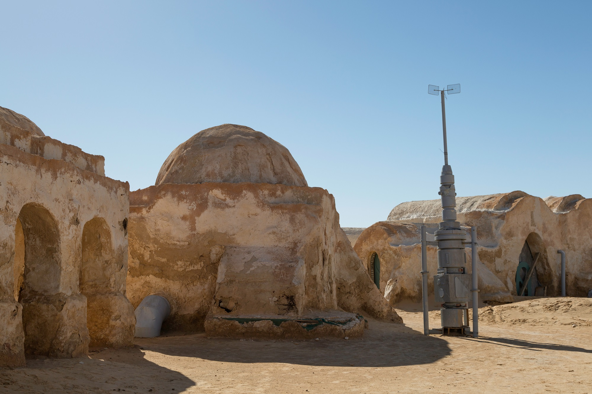 Next Star Wars movies and series. A set from Star Wars movies, houses from planet Tatouine.