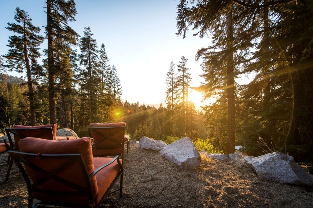 Glamping in California: The Luxury Tented Camp is another great option.