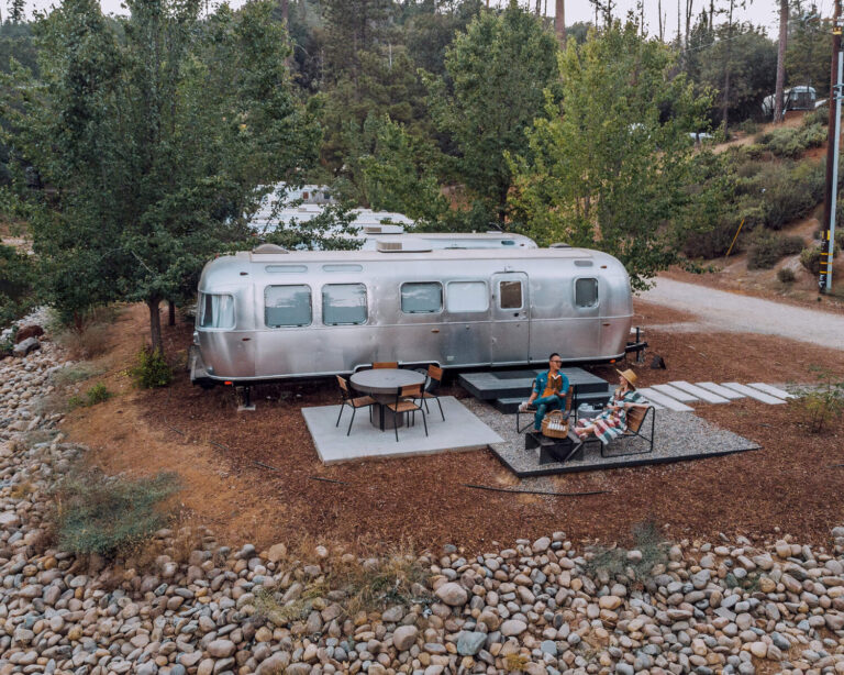 Glamping in California: The Yosemite Autocamp is a perfect place.