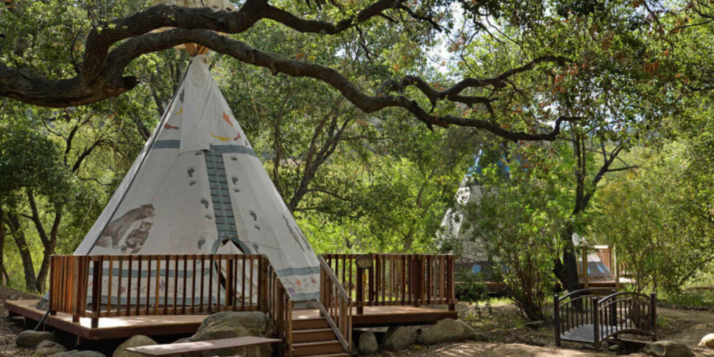 Ventura Ranch Koa is another excellent option to go glamping in California.