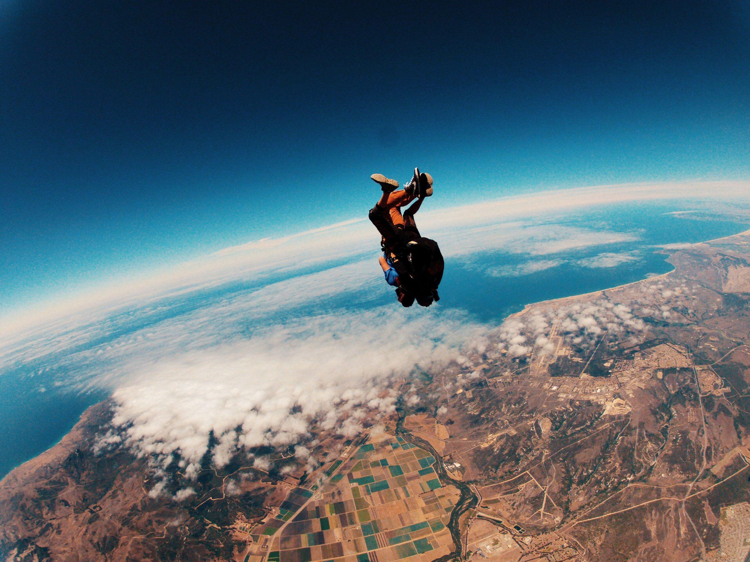 Fallschirmspringen in Colorado ist ein unglaubliches Abenteuer!