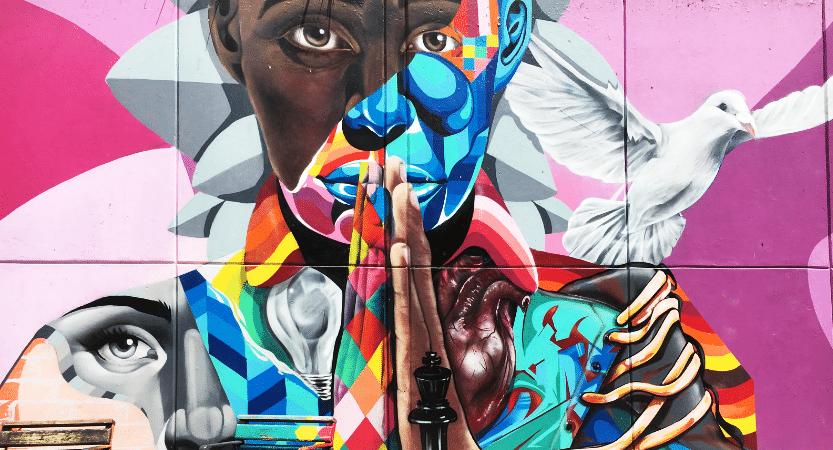 Graffiti en Medellín y muros que no te puedes perder.