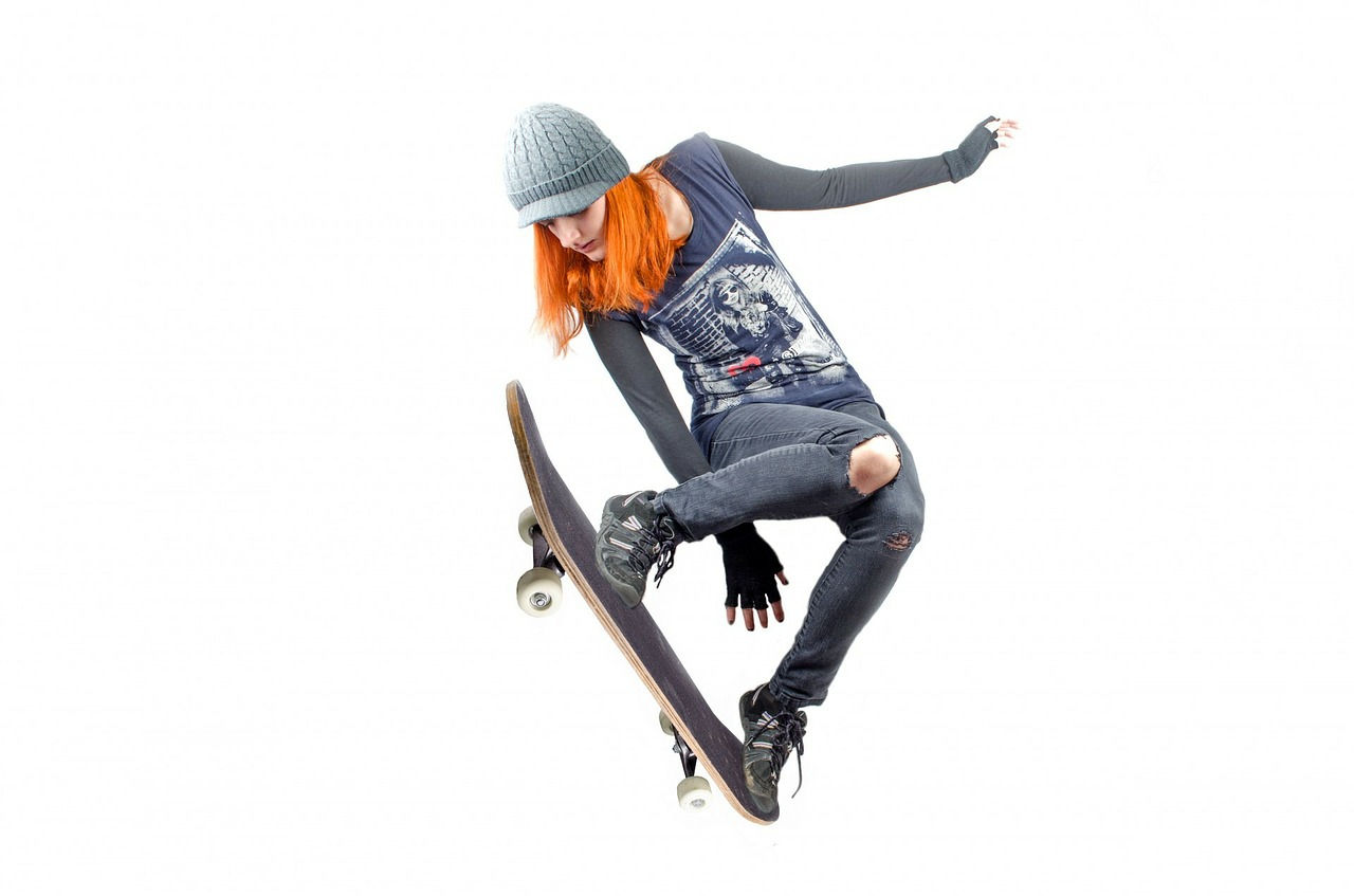 Tolle Ideen für Skater-Girl-Outfits.