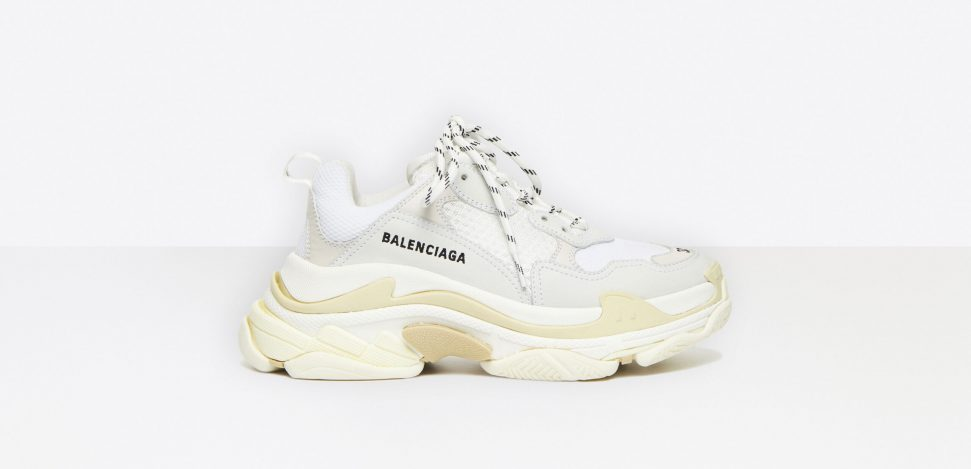 The famous Balenciaga trainers, a truly athleisure fashion brand.
