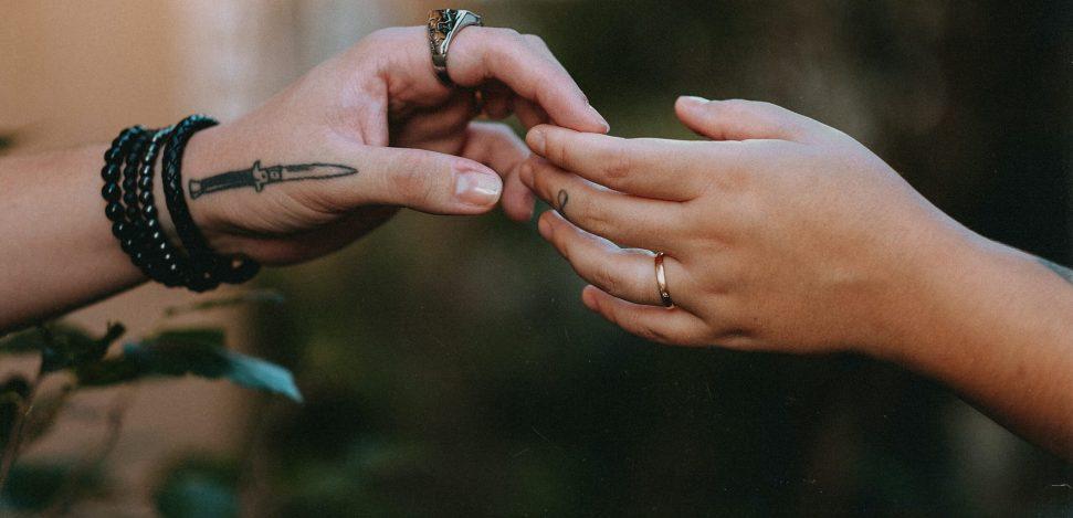 Pärchen-Tattoos: Ideen für den Valentinstag