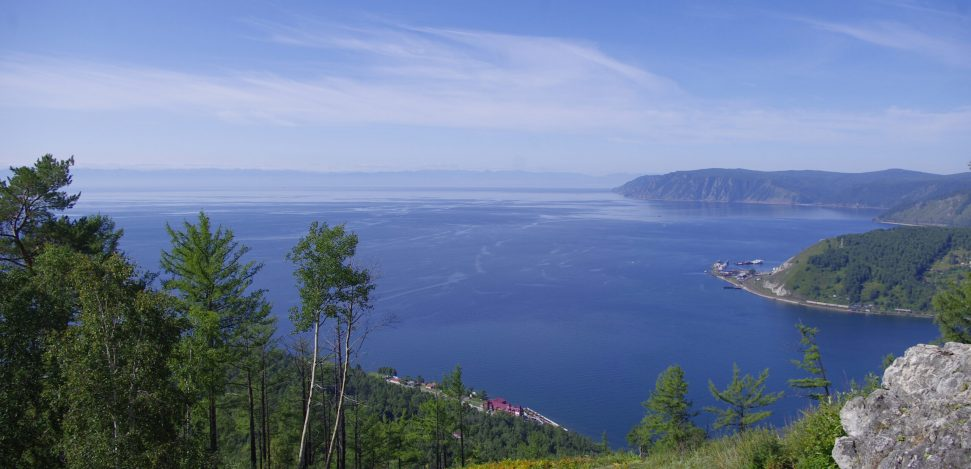 Lake Baikal: the deepest and oldest lake in the world. A great view of Lake Baikal.