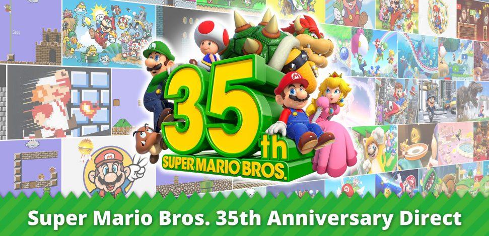 Celebrate the 35th anniversary of Super Mario Bros