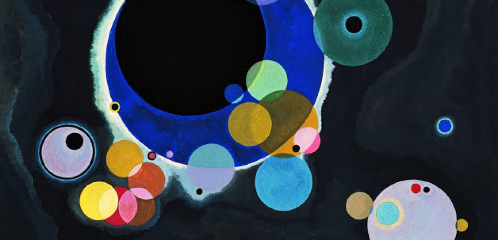 Kandinsky, the abstract painter who could see the colors of music.