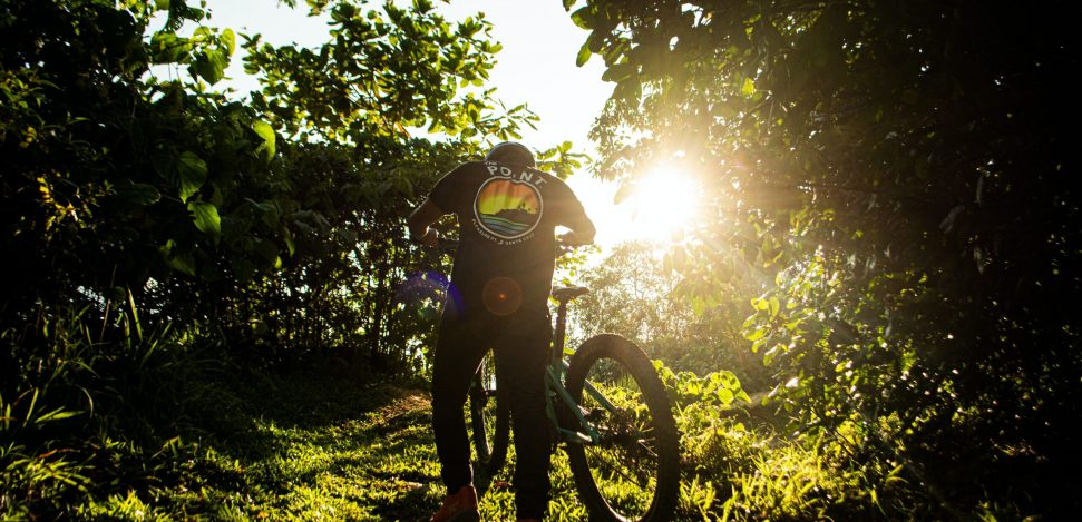 Downhill Mountain Biking tips for beginners.